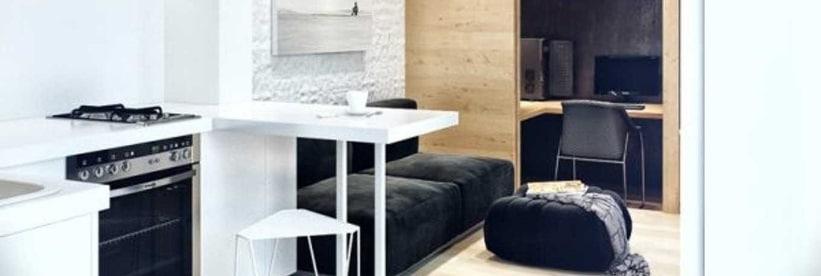 petits appartements comment optimiser votre espace home dome. Black Bedroom Furniture Sets. Home Design Ideas