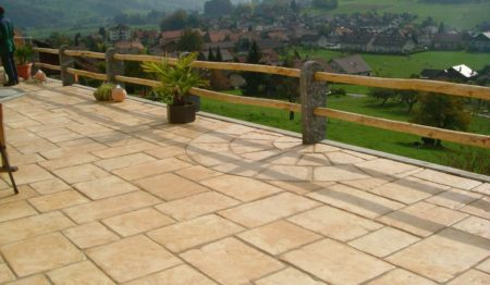 dallage de terrasse