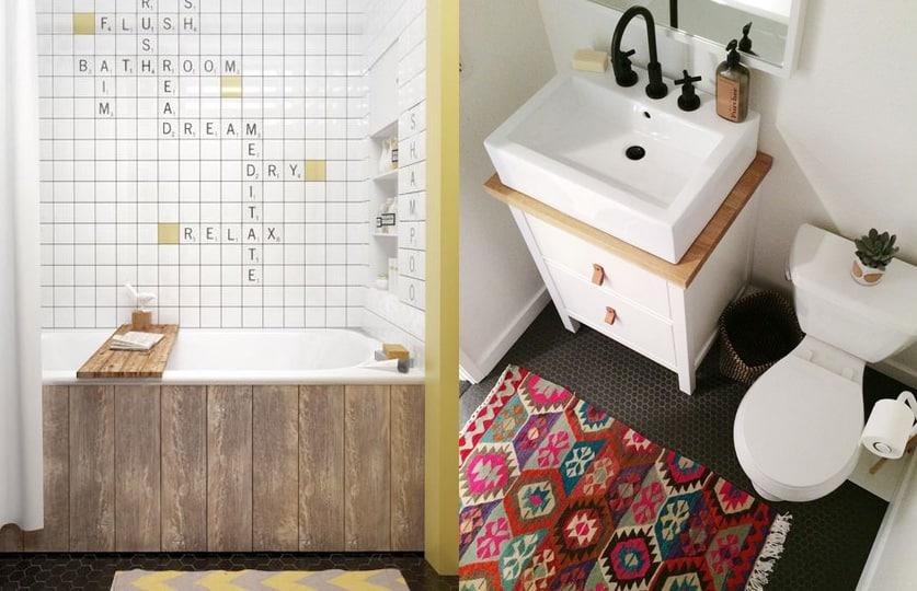 Cr atif cl ture conomique for Relooker sa salle de bain