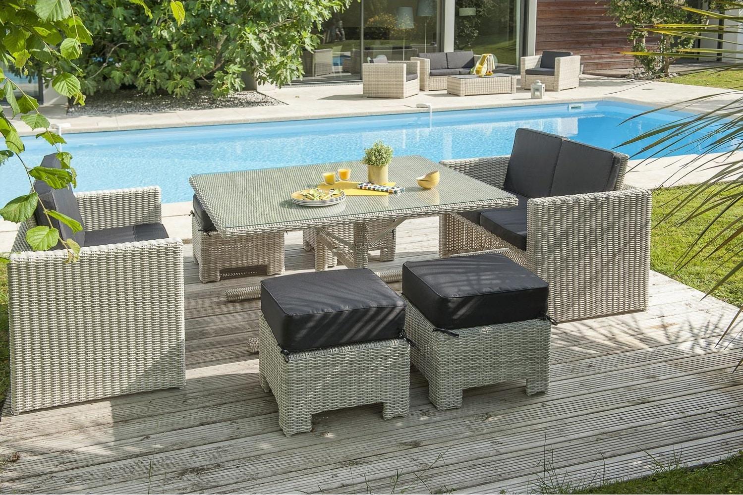 mobilier de jardin la petite touche haut de gamme pour parfaire votre ext rieur home dome. Black Bedroom Furniture Sets. Home Design Ideas