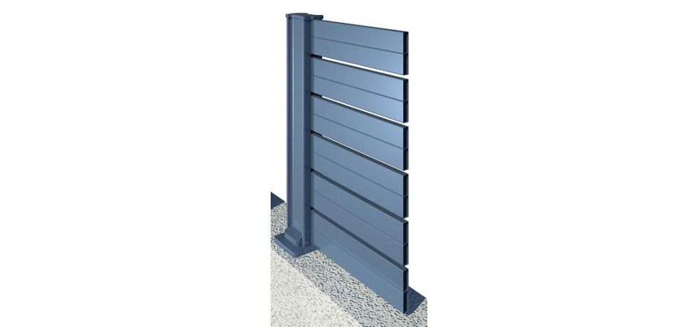 comment bien choisir sa cl ture en aluminium. Black Bedroom Furniture Sets. Home Design Ideas