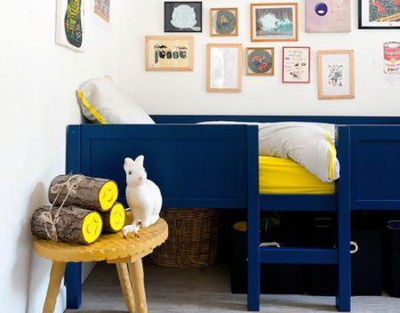 chambre enfant colorée
