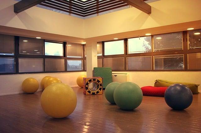 salle de gym fitness sous les toits