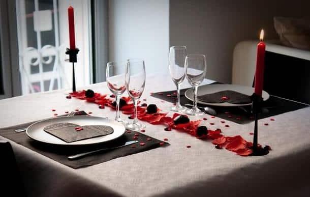Soirée Saint Valentin Les Meilleures Idées Déco Avec GIFI - Romantiques idees de decoration de chambre pour saint valentin