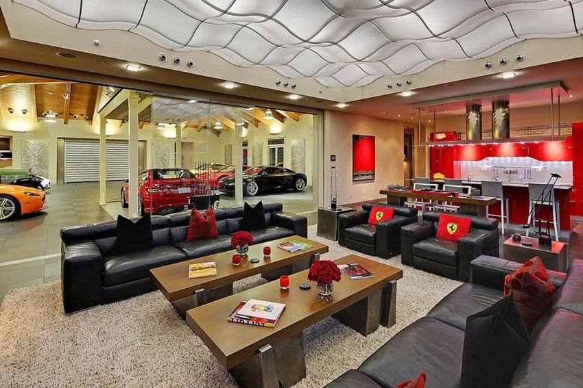 pour une d co originale pensez au style garage automobile. Black Bedroom Furniture Sets. Home Design Ideas