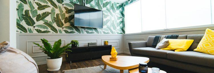 Aménagément d'une location meublée