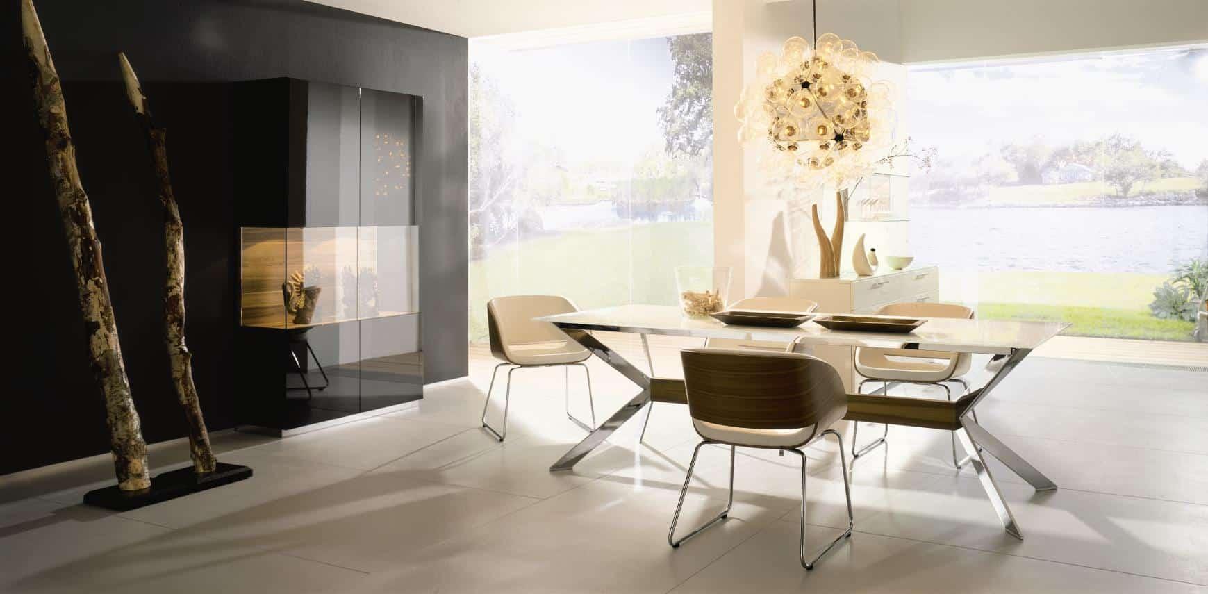 salle manger comment bien l am nager home dome. Black Bedroom Furniture Sets. Home Design Ideas